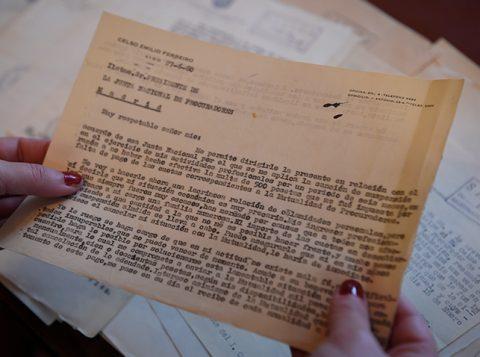 El Colegio de Procuradores desvela un archivo inédito de Celso Emilio Ferreiro