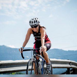 Elena Salgado es procuradora y triatleta